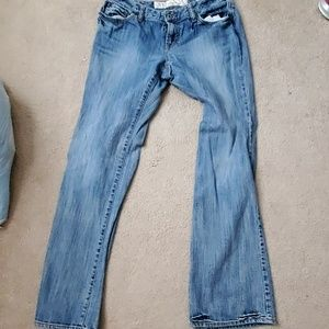 Curvy boot jeans